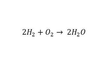 Resultado de imagen de reaccion entre hidrogeno y oxigeno