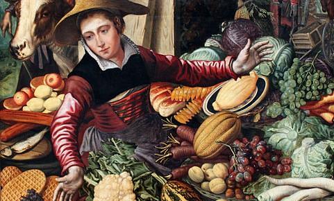 La hortaliza multicolorL'hortalissa multicolor